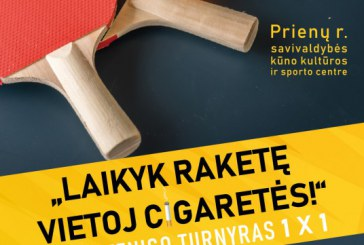 Stalo teniso turnyras Prienų KKSC