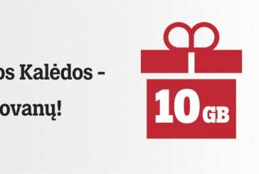 """""""Tele2"""" klientams Kalėdos jau prasidėjo: dovanų gavo po 10 GB dviems mėnesiams"""