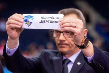 """Ištraukti Karaliaus Mindaugo taurės ketvirtfinalio burtai. """"SkyCop"""" kelyje – """"Neptūnas"""""""