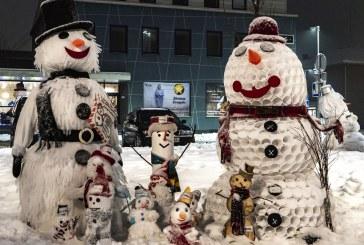 Žiemos mozaika Prienuose (Fotoreportažas. Autorius Arūnas Aleknavičius)