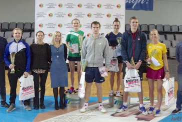 Lietuvos pajėgiausių stalo tenisininkų TOP-12 pirmenybės Prienuose (Fotoakimirkos)