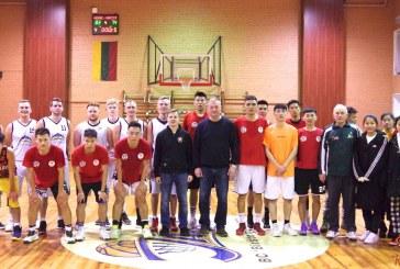 Krepšinis Birštone. LSU  studentai iš Kinijos  – Birštonas (Fotoreportažas)
