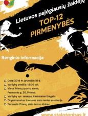 Lietuvos pajėgiausių žaidėjų TOP-12 pirmenybės