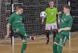 Lietuvos salės futbolo rinktinė Prienuose du kartus išbandys jėgas su Kirgizijos rinktine