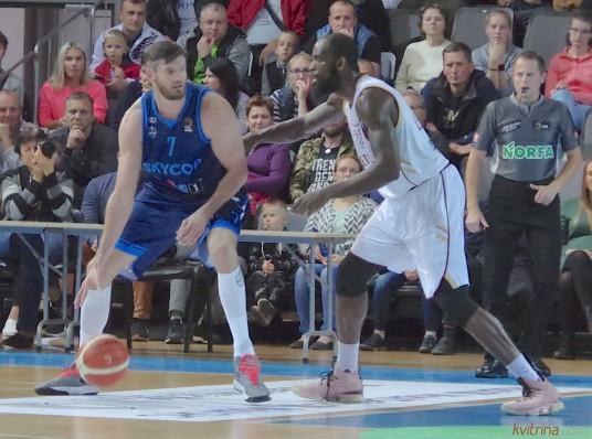 Darjušas Lavrinovičius pelnė 14 taškų ir buvo rezultatyviausias komandoje