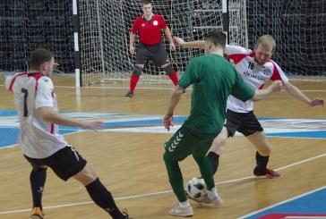 Lietuvos salės futbolo rinktinės  draugiškos rungtynės Prienų arenoje (Fotoakimirkos)