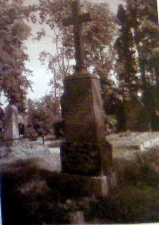 Liudo Žukausko kapas Lazdijų rajono Rudaminos kapinėse .REDAG