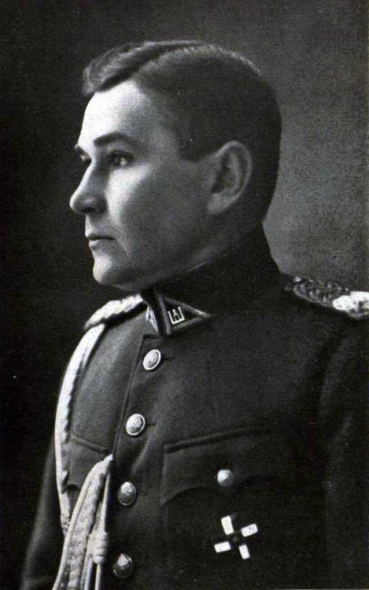 Generalinio štabo pulkininkas(vėliau generolas) S.Zaskevičius 1933 m
