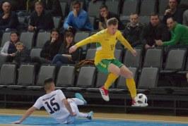 """Salės futbolas """"Lietuva"""" – """"Kirgizija"""" 2:6  (Fotoreportažas)"""