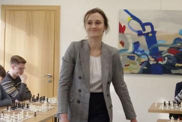 Viktorijos Čmilytės-Nielsen simultanas su krašto šachmatininkais (Fotoreportažas)