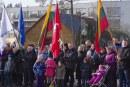 Valstybės atkūrimo diena. Vėliavos pakėlimas Birštone (Fotoreportažas)