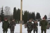 Jiezno seniūnijoje aplankyti kovotojų už Lietuvos nepriklausomybę kapai (organizatorių nuotr.)