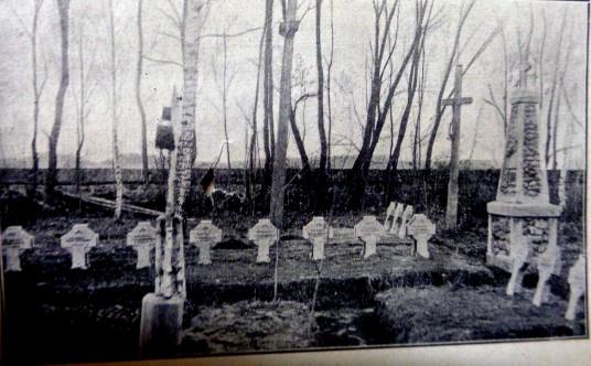 Jiezno savanorių kapinės 1930 m