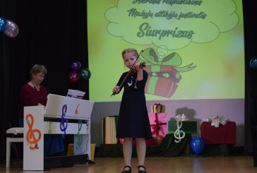 """Festivalis """"Siurprizas"""" – mažųjų atlikėjų debiutams ir džiaugsmui"""