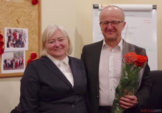Mero pavaduotojo pareigas išrinktas meras Alvydas Vaicekauskas pasiūlė savo konkurentei antrajame rinkimų ture  Loretai Jakinevičienei.