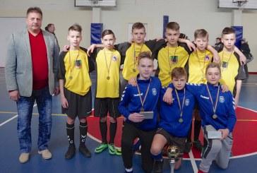 """Vaikų tradicinis 15-asis salės futbolo turnyras """"Ąžuolo"""" progimnazijos taurei laimėti (Fotoakimirkos)"""