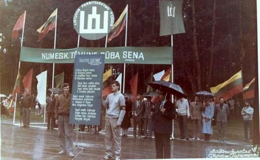 Sąjūdžio mitingas Birštone 1988