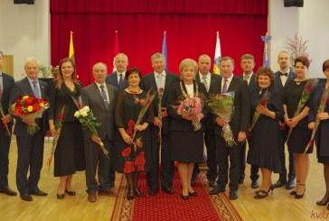Kurhauze iškilmingai prisaikdinti naujos kadencijos Birštono savivaldybės tarybos nariai