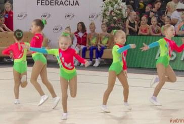 Lietuvos aerobikos čempionatas Prienų arenoje. Atidarymo ceremonija ir apdovanojimai. Fotoreportažas