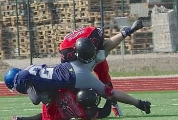 Amerikietiško futbolo rungtynės Prienuose (Fotoreportažas)