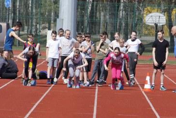 Sporto diena Birštono sporto centro stadione (Organizatorių nuotraukos)