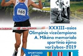 A. Mikėno memorialo sportinio ėjimo varžybos