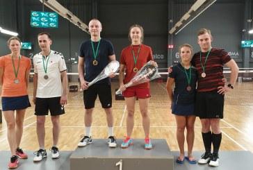 Gerda Trakymaitė – tarptautinio badmintono turnyro nugalėtoja