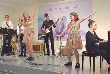 Lengvosios muzikos-džiazo festivalyje – laureato vardas Birštono meno mokyklos ansambliui