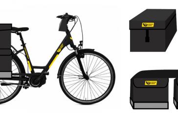 Birštono laiškininkas važinės elektriniu dviračiu