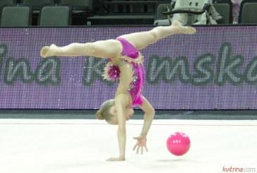 Meninės gimnastikos varžybos Prienų arenoje