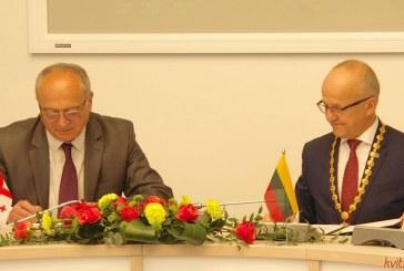 Prienai pasirašė draugystės ir bendradarbiavimo sutartį su Dusheti iš Sakartvelo