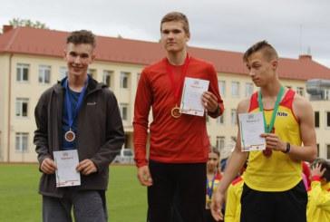 Atviros Kauno miesto lengvosios atletikos pirmenybės Birštone (I diena)