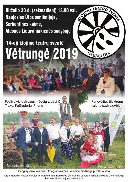 Skelbimas Vetrunge 2019