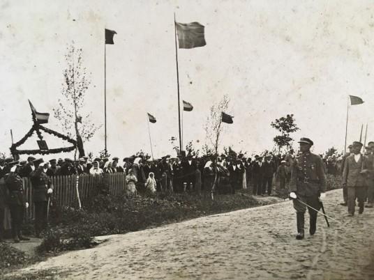 Užuguosčio šauliai 1935 metais.REDAG