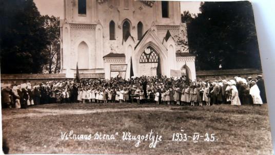 Vilniaus diena Užuguostyje 1933,redag