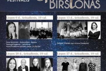 """Sakralinės muzikos festivalis """"Gaudete, Birštonas' 2019"""""""