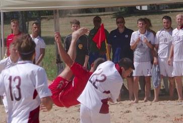Draugiškos paplūdimio rungtynės LIETUVA-LATVIJA (3:5). Fotoreportažas