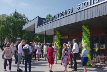 Prienuose pradėjo veikti atnaujinta autobusų stotis (Fotoreportažas)