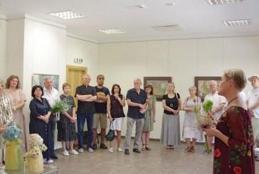 Menininkės Ilonos June-Junevičienės parodos atidarymas Kurhauze (Fotoreportažas)
