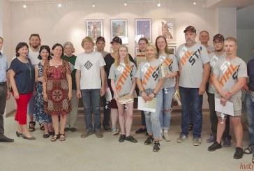 Jaunųjų restauratorių stovykla Prienų amatų centre (Fotoreportažas)