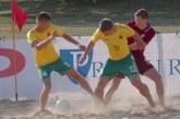 Draugiškose paplūdimio futbolo rungtynėse Prienuose – lietuvių pergalė