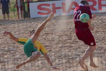 Draugiškos paplūdimio rungtynės LIETUVA – LATVIJA (Fotoreportažas)