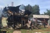 Papilvio kaime supleškėjo gyvenamasis namas