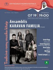XXIV Pažaislio muzikos festivalis. Tradicinė romų muzika kitaip Birštono KC