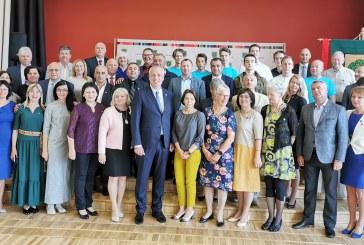 Prienų rajono savivaldybės atstovai dalyvavo Talsų (Latvija) savivaldybės šventiniuose renginiuose
