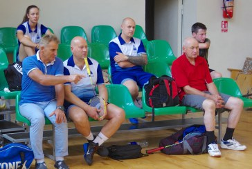 Badmintono turnyras Prienų KKSC salėje (Fotoreportažas)