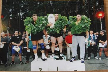 """Prieš 20 metų Birštone pirmą kartą buvo surengtas turnyras """"Nemuno galiūnas"""""""