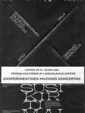 Eksperimentinės muzikos koncertas Prienų KLC