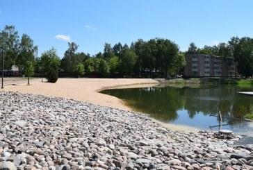 Prienų miesto tvenkinio vandens kokybė normos reikalavimus atitinka