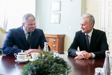 A. Palionio susitikimas su prezidentu G. Nausėda aiškumo dėl jo paskyrimo žemės ūkio ministru nepridėjo